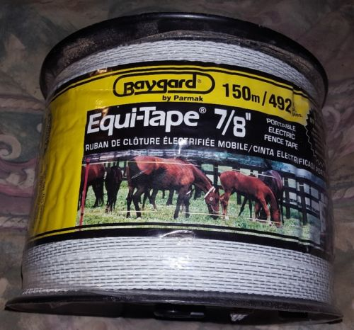 Parmak Precision Portable Equi-Tape Electric Fence Tape 7/8