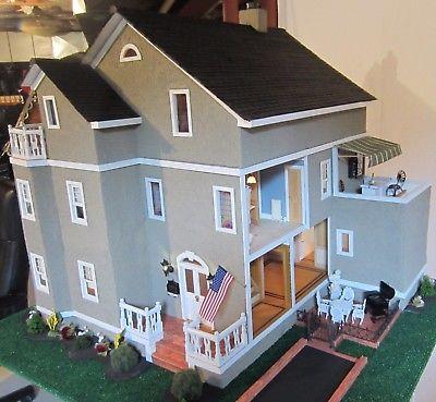 OOAK Vintage, 1:12 Scale, Engineer-Crafted Dollhouse