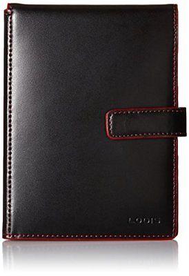 Lodis Audrey Passport Wallet with Ticket Flap Black one size Money Belts Wallets