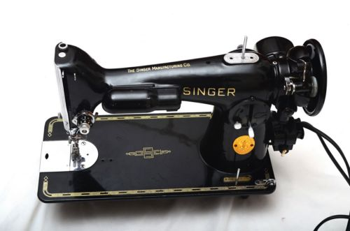 Vintage Singer 201-2 Sewing Machine, Beautiful Condition