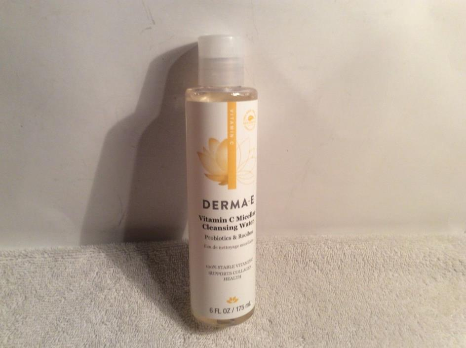 Derma E Vitamin C Micellar Cleansing Water 6 oz