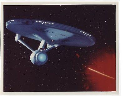STAR TREK VI: THE UNDISCOVERED COUNTRY 1991 Enterprise under fire