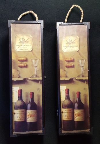 Wine Bottle Holder Case Box Travel Case BEAUTIFUL & DECORATIVE!! Wine Box....