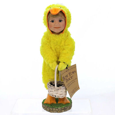 Boyds Bears Resin BRIDGETTE Polyresin Easter Duck Basket Eggs Resin 4525