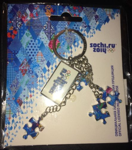 Keychain Sochi 2014 Winter Olympics Official Licensed Merchandise New In Package