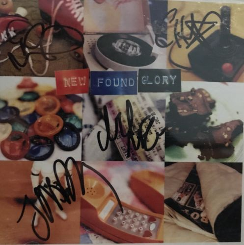 Signed New Found Glory CD