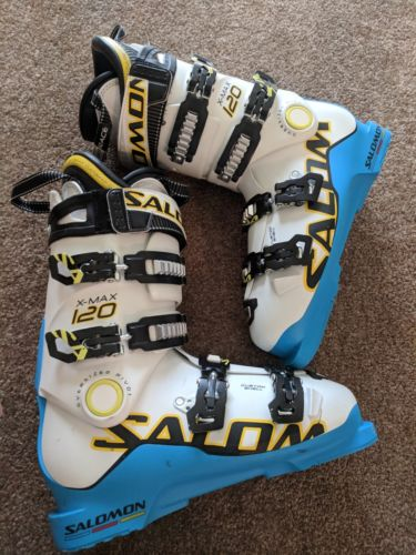 Salomon X-Max 120 Ski Boots size 28.5 Energyzer 120 Oversized Pivot
