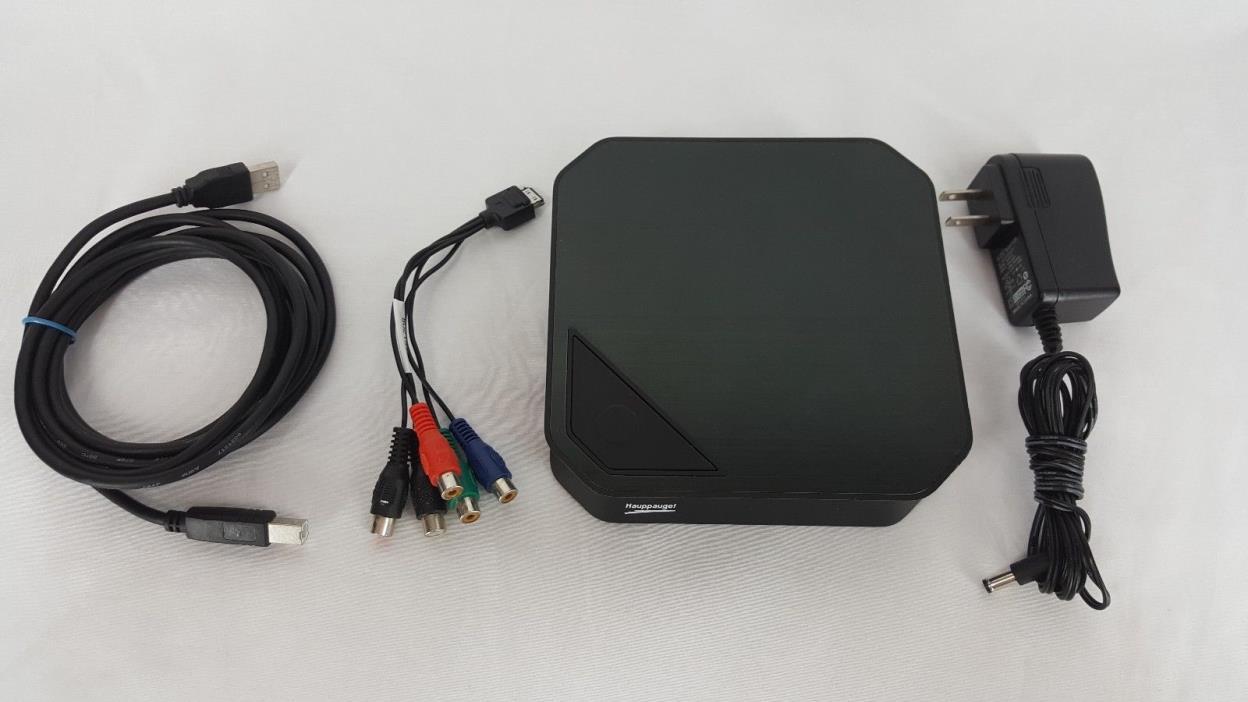 Hauppauge! HD PVR 2 Model 157210 LF Rev B1 Video recorder PS3 Xbox 360 Works!