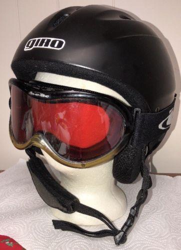 GIRO 540 SKI SNOWBOARD HELMET ADULT Size L 57-59cm Black w Bolle Goggles
