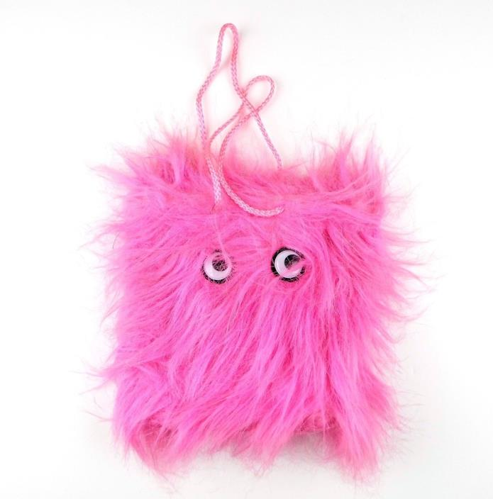 American Greetings Warm Fuzzies Gift Bag Pink Monster 8