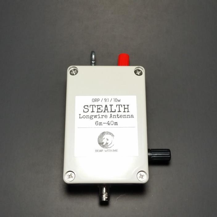 LongWire HF MATCHBOX End-Fed QRP 9:1 Unun  Random Wire, SOTA, Elecraft, FT-817ND