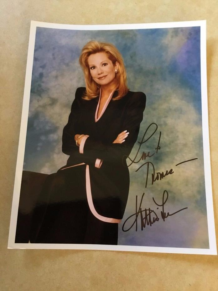 KATHIE LEE  ( GIFFORD ) - TODAY SHOW  -  DEDICATED COLOR  8 x 10