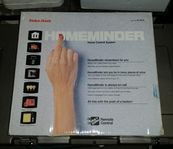 Vintage Radio Shack Homeminder Home Control System  61-2673