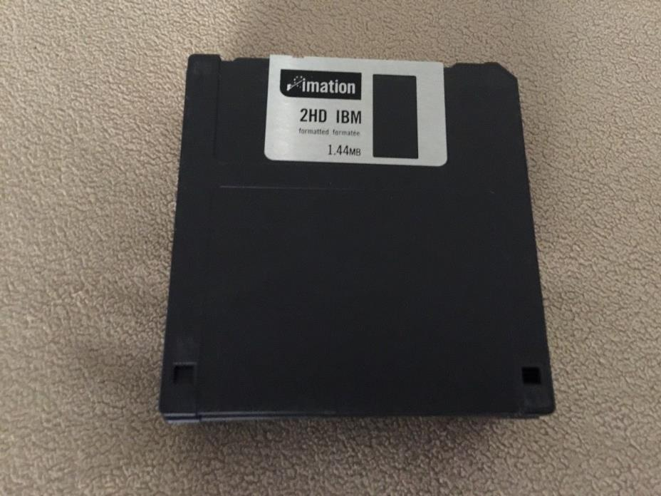 11 Imation IBM Formatted 3.5 inch 2HD 1.44 MB Diskettes