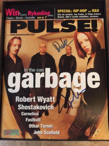 SIGNED GARBAGE PULSE MAGAZINE 1998 SHIRLEY/DUKE LIFETIME COA RARE Weekend sale