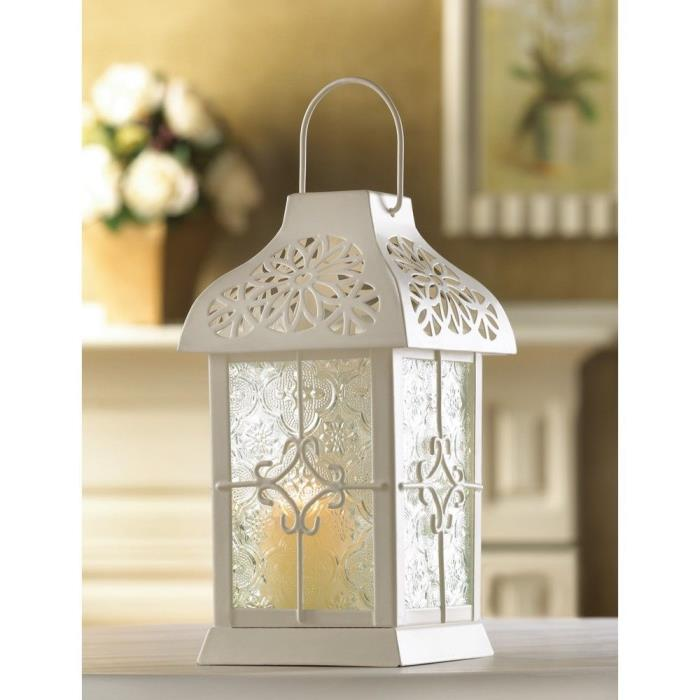 Set of 10-Daisy Gazebo Candle Lanterns