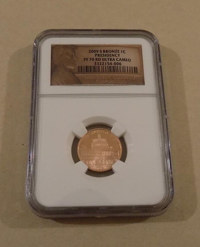 2009 S BRONZE PRESIDENCY LINCOLN BICENTENNIAL CENT PENNY NGC PF70 RD ULTRA CAM