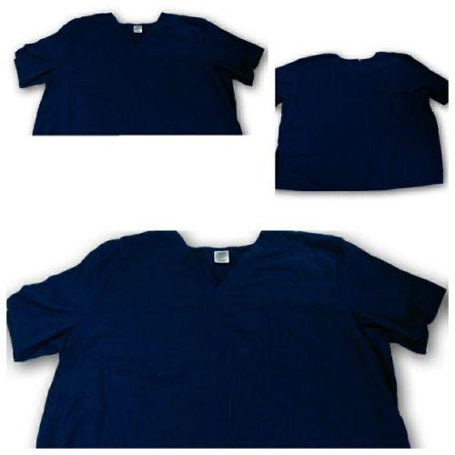 2xl deep Cobalt blue Solid scrub top nursing uz13150t 52469 uniform nursing