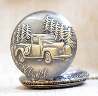 Chevy Truck Pocket Watch