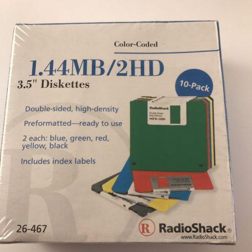 Radio Shack 1.44 MB/2HD 3.5