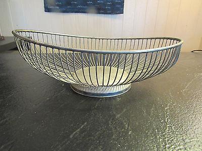 Leonard Silverplated Fruit / Floral / Bread Basket