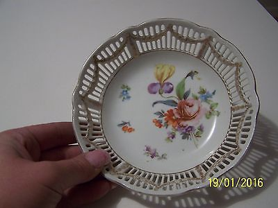 Vintage Plate Marked RTW Bavaria