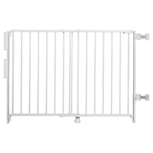 Regalo Top Of Stairs Expandable Metal Gate, With Mounting Kit ** Open Box **