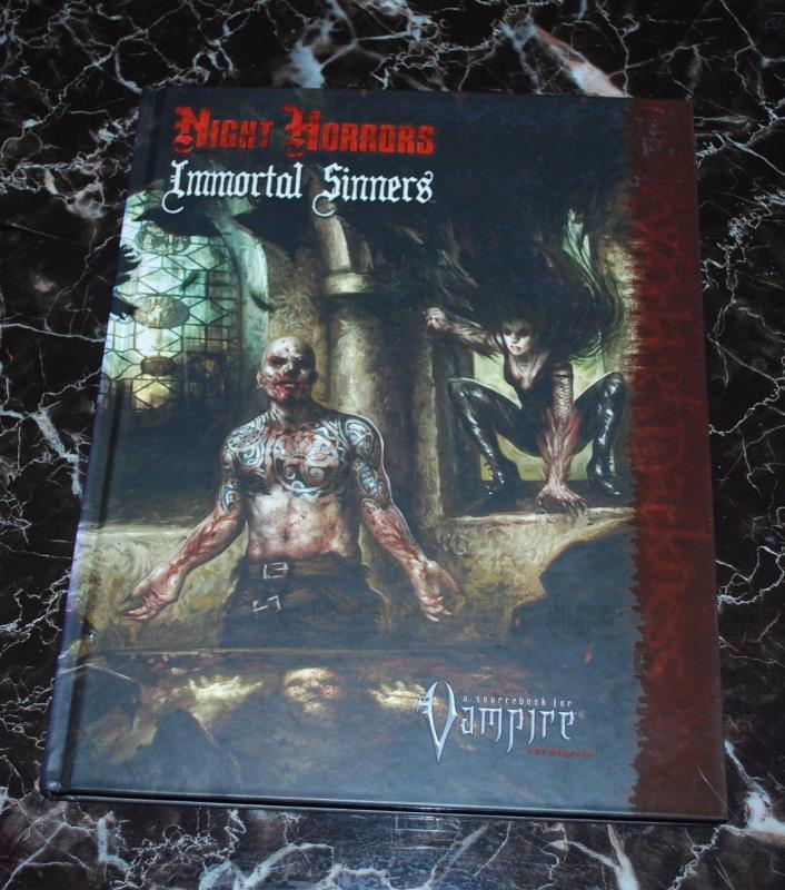 Vampire the Requiem Night Horrors Immortal Sinners HC White Wolf