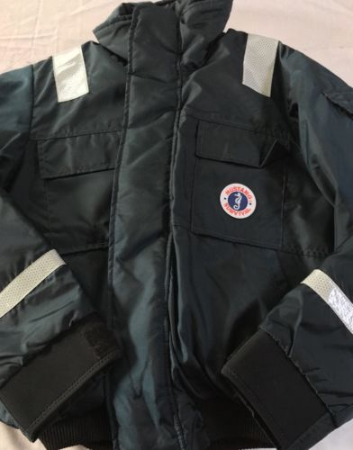 Mustang Survival Jacket Adult Medium Flotation Bomber Jacket NWOT MSRP $259