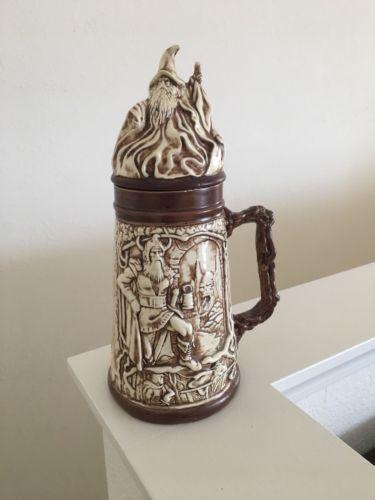 """14"""" Ceramic Beer Stein"""