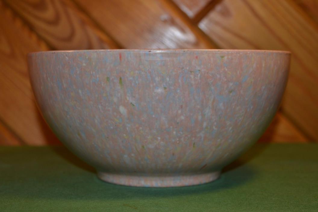 Vintage Apollo Ware Melmac Confetti Bowl Alexander Barna Splatter Melamine LARGE