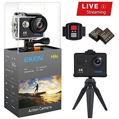 Eken H9S Action Camera Live Streaming 4K Wifi Ultra Hd Waterproof Sports Came