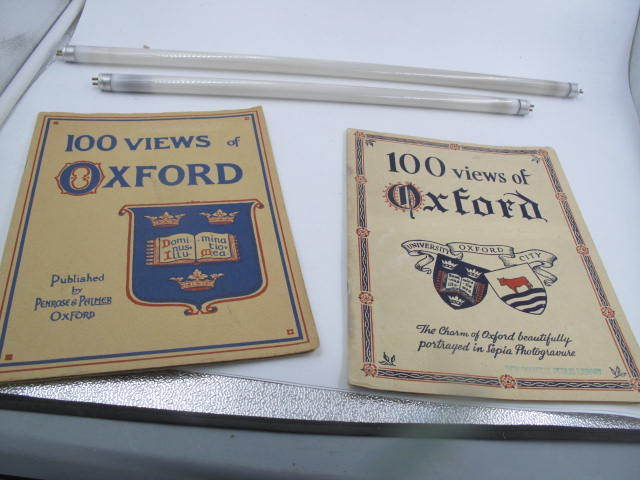 1931 100 VIEWS OF OXFORD ENGLAND PUBLISHED BY PENROSE & PALMER OXFORD 2