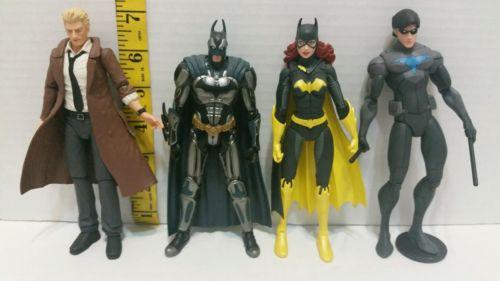 Lot of 4 Batman Action Figures
