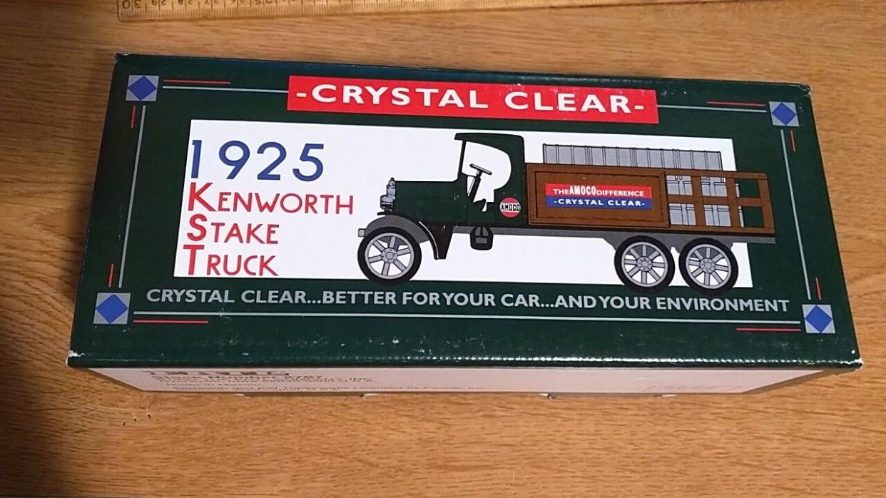 Amoco 1925 Kenworth Stake Truck Diecast Metal Coin Bank Ertl NEW #2767