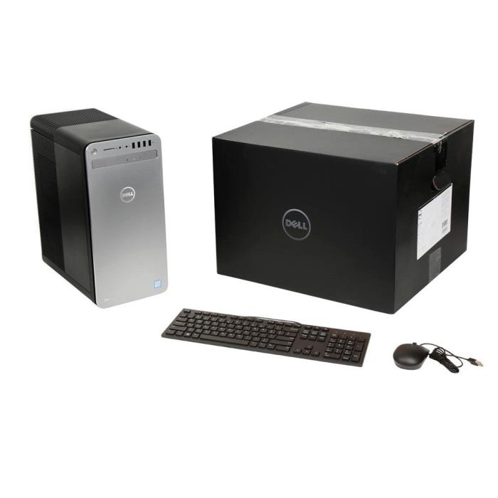 DELL XPS 8920 DESKTOP, INTEL CORE i7 4.2GHZ, 16GB RAM, 256GB M.2 SSD+2TB HDD