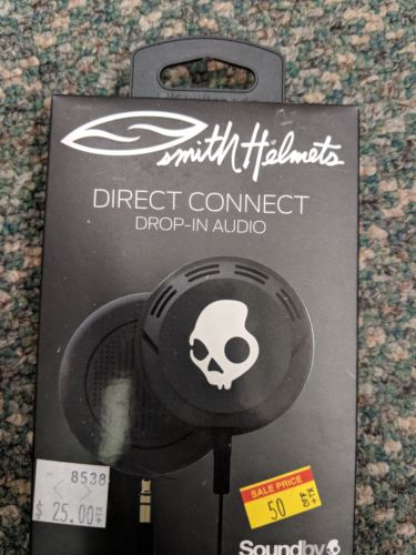 Smith helmet Skullcandy headphones inserts Ski Snowboard New unopened box
