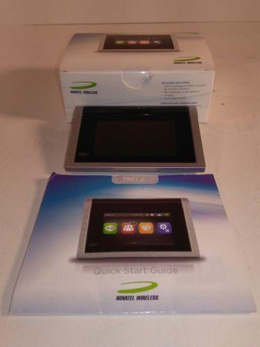 Novatel Wireless MiFi 2 Unlocked 3G / 4G LTE Touchscreen Modem HotSpot JetPack