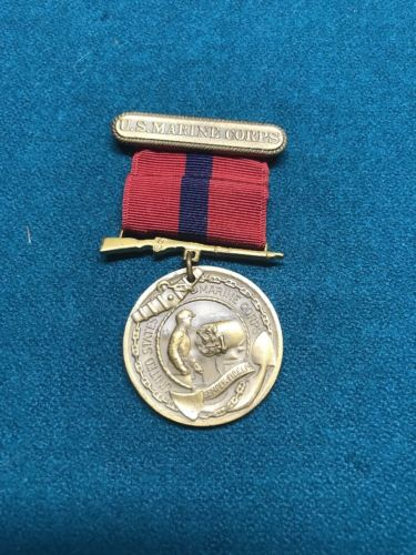 Korean war Era USMC Good Conduct Medal Named
