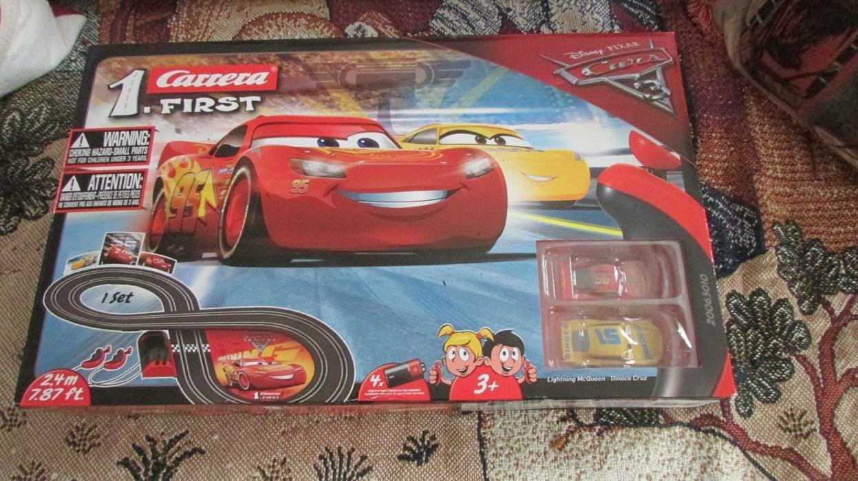 Carrera First 63010 Disney/Pixar Cars 3 battery operated slot car set