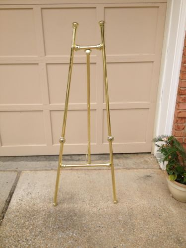Brass Display Easel 60