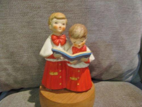 Vintage Reuge Swiss Musical Box Movement German Christmas Carol Joy World
