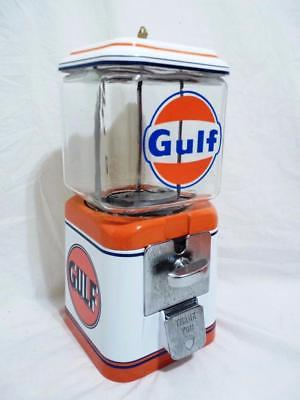 Gulf gasoline Acorn glass globe vintage gumball machine collectibles novelty