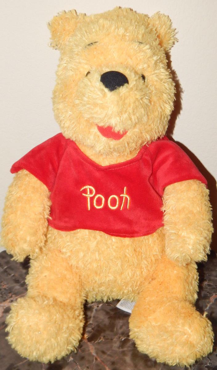 POOH BEAR WINNIE THE POOH PLUSH TEDDYBEAR TEDDY BEAR