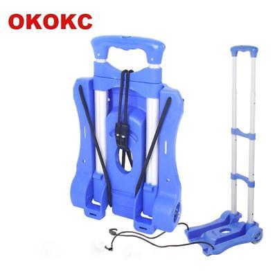 OKOKC Travel Accessories Shopping Cart 2 Wheels Rolling Cart Removable Trolley C