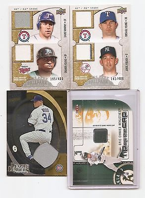 2009-UD-dual SWATCH-jersey BALLPARK collection SET/card #118-david MURPHY-young