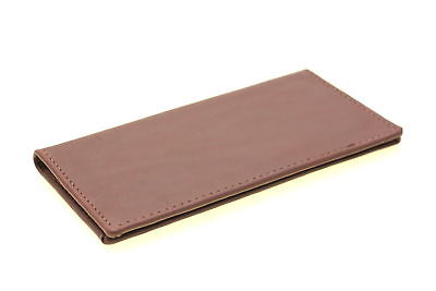Genuine Leather Checkbook Cover Wallet Holder Men Women Made In America New