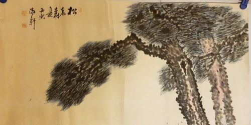 Original painting- (pine tree)