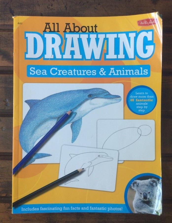 All About Drawing: Sea Creatures & Animals - A00053