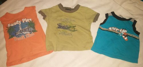 12 month baby boy lot 3 shirts